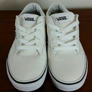 Vans white - kids 4